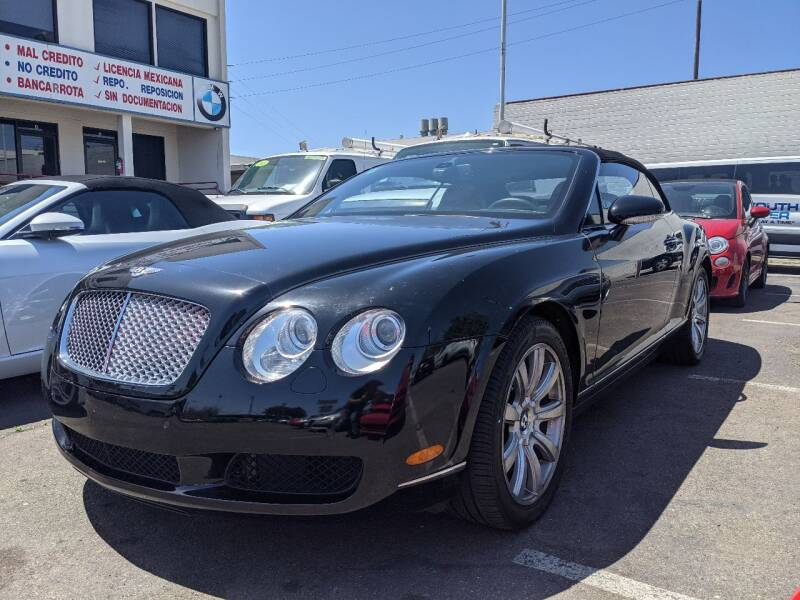 2008 Bentley Continental for sale in National City, CA