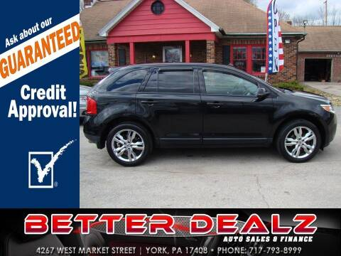 2012 Ford Edge for sale at Better Dealz Auto Sales & Finance in York PA