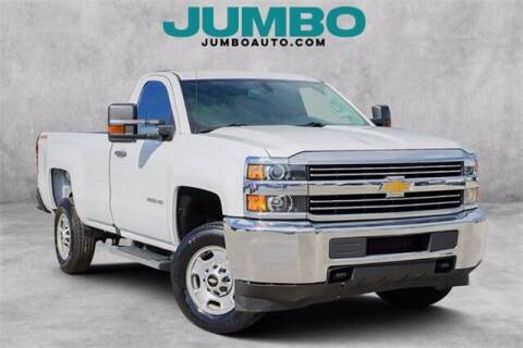 2017 Chevrolet Silverado 2500HD for sale at Jumbo Auto & Truck Plaza in Hollywood FL