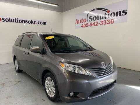 2013 Toyota Sienna for sale at Auto Solutions in Warr Acres OK