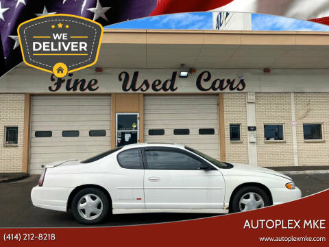 2003 Chevrolet Monte Carlo for sale at Autoplex 2 in Milwaukee WI