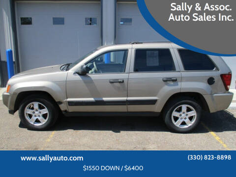 2006 Jeep Grand Cherokee for sale at Sally & Assoc. Auto Sales Inc. in Alliance OH