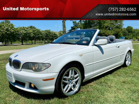 2004 BMW 3 Series for sale at United Motorsports in Virginia Beach VA