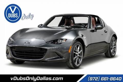 2017 Mazda MX-5 Miata RF for sale at VDUBS ONLY in Dallas TX