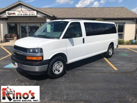 2017 Chevrolet Express Passenger for sale at Rino's Auto Sales in Celina OH