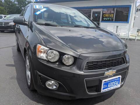 2015 Chevrolet Sonic for sale at GREAT DEALS ON WHEELS in Michigan City IN