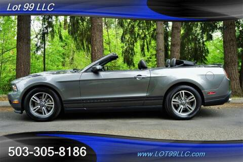 2011 Ford Mustang for sale at LOT 99 LLC in Milwaukie OR