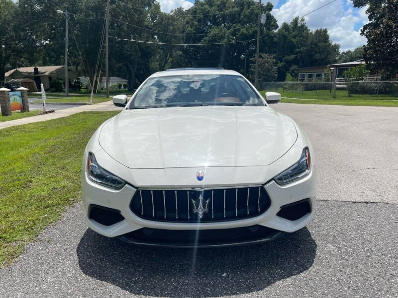 2018 Maserati Ghibli for sale at P J Auto Trading Inc in Orlando FL
