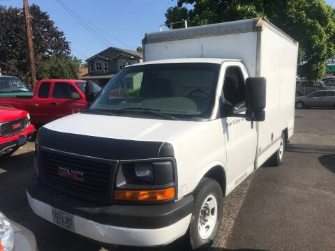 2008 GMC Savana Cutaway for sale at Chuck Wise Motors in Portland OR