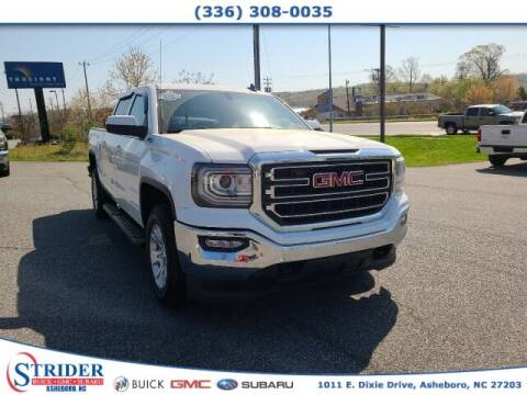 2017 GMC Sierra 1500 for sale at STRIDER BUICK GMC SUBARU in Asheboro NC