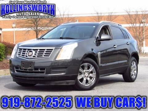 2014 Cadillac SRX for sale at Hollingsworth Auto Sales in Raleigh NC