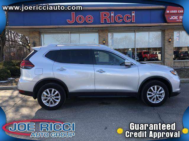 2017 Nissan Rogue for sale at JOE RICCI AUTOMOTIVE in Clinton Township MI