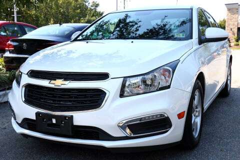2016 Chevrolet Cruze Limited for sale at Prime Auto Sales LLC in Virginia Beach VA