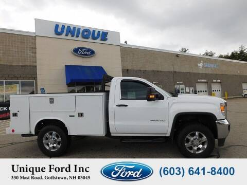 2018 GMC Sierra 2500HD for sale at Unique Motors of Chicopee - Unique Ford in Goffstown NH