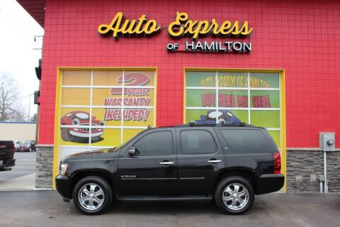 2007 Chevrolet Tahoe for sale at AUTO EXPRESS OF HAMILTON LLC in Hamilton OH