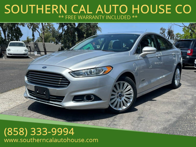 2013 Ford Fusion Energi for sale in San Diego, CA