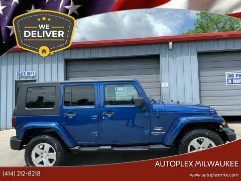 2009 Jeep Wrangler Unlimited for sale at Autoplex 2 in Milwaukee WI