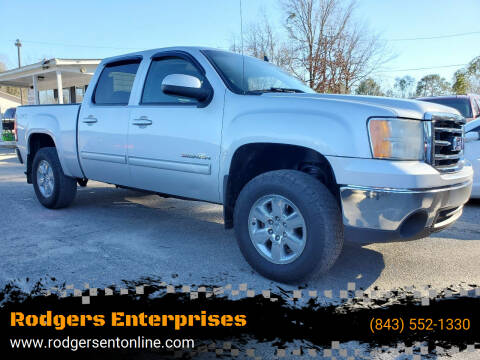 2012 GMC Sierra 1500 for sale at Rodgers Enterprises in North Charleston SC