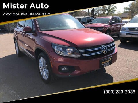 2013 Volkswagen Tiguan for sale at Mister Auto in Lakewood CO