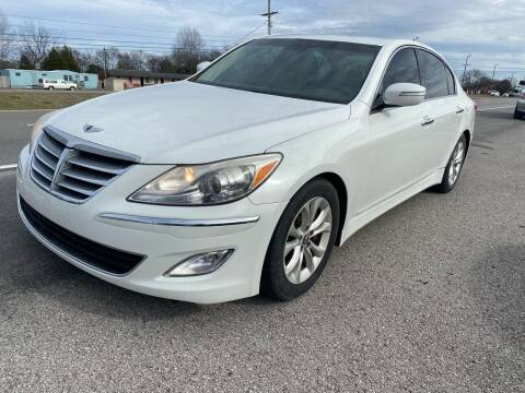 2012 Hyundai Genesis for sale at Tennessee Auto Brokers LLC in Murfreesboro TN