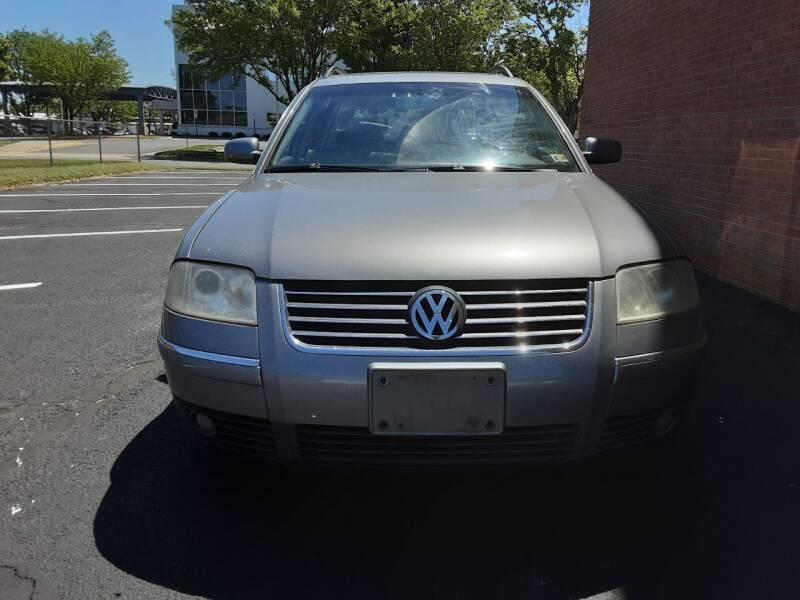 2002 Volkswagen Passat for sale at Fredericksburg Auto Finance Inc. in Fredericksburg VA