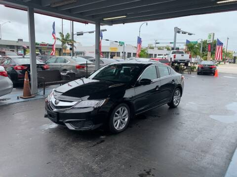 2018 Acura ILX for sale at American Auto Sales in Hialeah FL