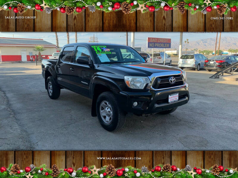 2014 Toyota Tacoma for sale at Salas Auto Group in Indio CA