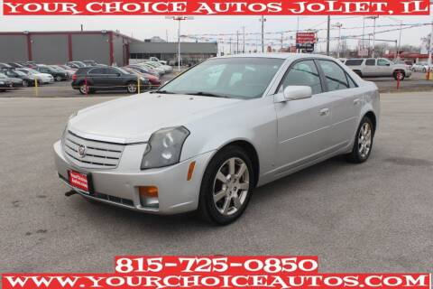 2007 Cadillac CTS for sale at Your Choice Autos - Joliet in Joliet IL