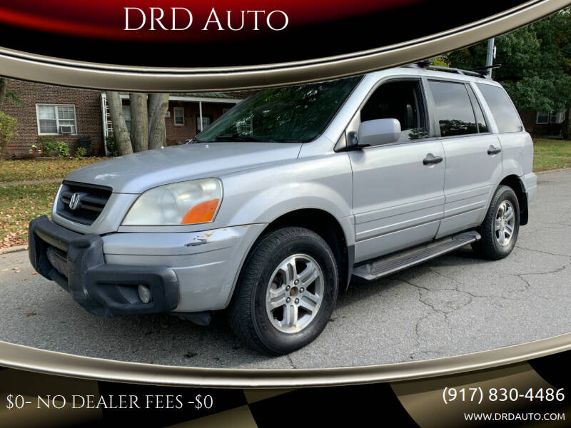 2003 Honda Pilot for sale at DRD Auto in Flushing NY