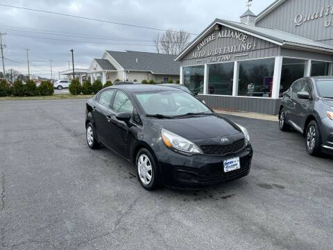 2013 Kia Rio for sale at Empire Alliance Inc. in West Coxsackie NY