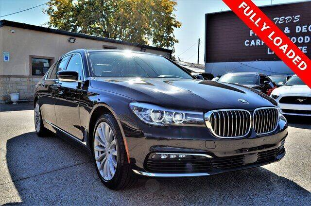 2018 BMW 7 Series for sale at LAKESIDE MOTORS, INC. in Sachse TX