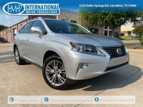 2013 Lexus RX 350 for sale at International Motor Productions in Carrollton TX