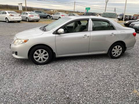 2009 Toyota Corolla for sale at Tri-Star Motors Inc in Martinsburg WV
