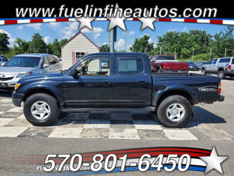 2002 Toyota Tacoma for sale at FUELIN FINE AUTO SALES INC in Saylorsburg PA