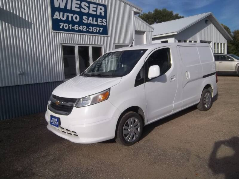 2015 Chevrolet City Express Cargo for sale at Wieser Auto INC in Wahpeton ND