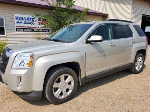 2013 GMC Terrain for sale at Hollatz Auto Sales in Parkers Prairie MN