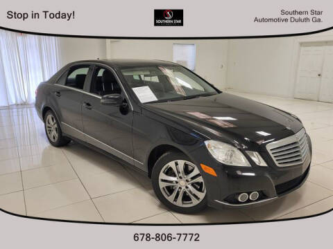 2011 Mercedes-Benz E-Class for sale at Southern Star Automotive, Inc. in Duluth GA