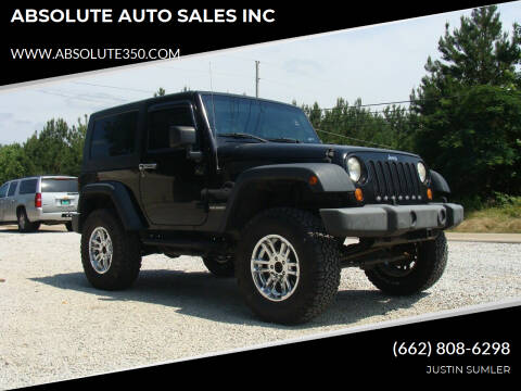 2007 Jeep Wrangler for sale at ABSOLUTE AUTO SALES INC in Corinth MS