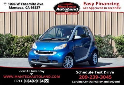 2008 Smart fortwo for sale at Manteca Auto Land in Manteca CA