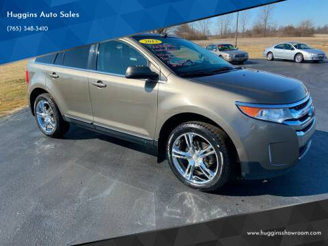 2013 Ford Edge for sale at Huggins Auto Sales in Hartford City IN