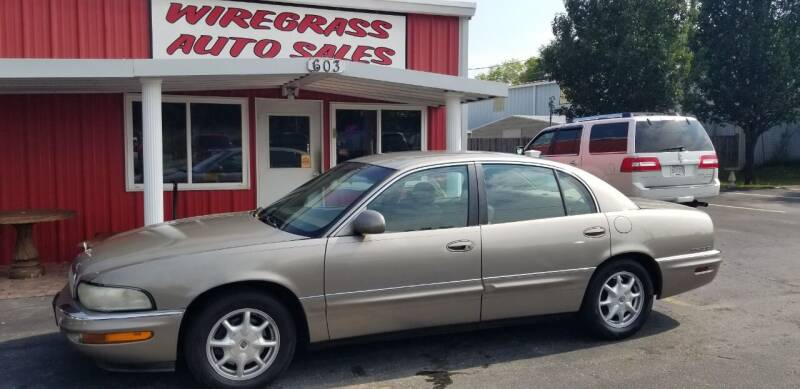 2001 Buick Park Avenue for sale at WIREGRASS AUTO SALES in Dothan AL