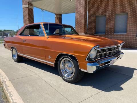 1967 Chevrolet Nova for sale at Klemme Klassic Kars in Davenport IA