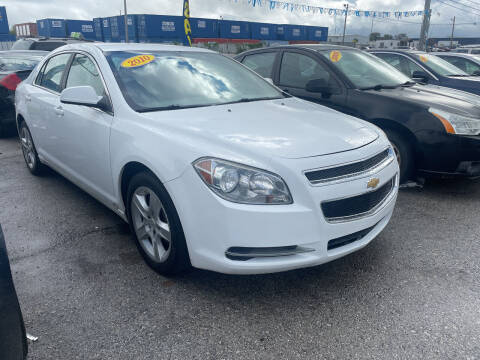 2010 Chevrolet Malibu for sale at I57 Group Auto Sales in Country Club Hills IL