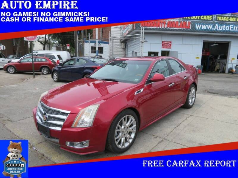 2011 Cadillac CTS for sale at Auto Empire in Brooklyn NY