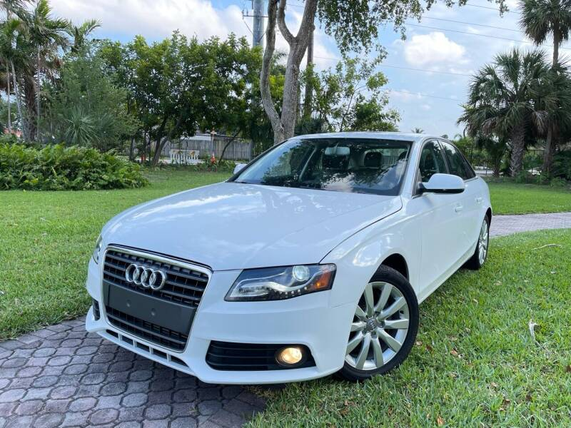 2012 Audi A4 for sale at Citywide Auto Group LLC in Pompano Beach FL