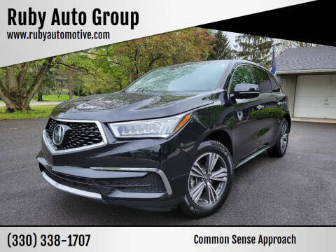 2018 Acura MDX for sale at Ruby Auto Group in Hudson OH