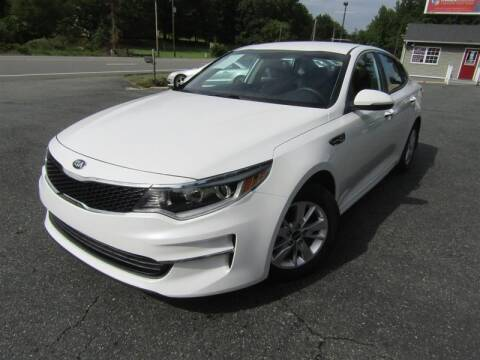 2017 Kia Optima for sale at Guarantee Automaxx in Stafford VA