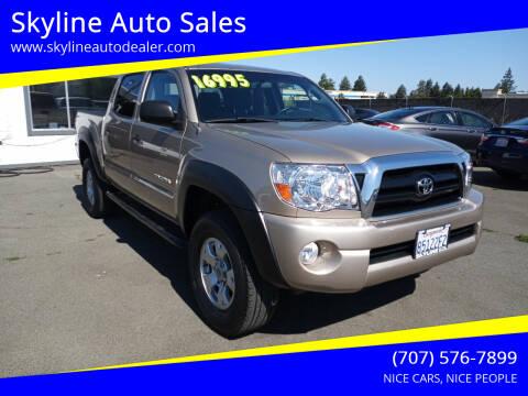 2006 Toyota Tacoma for sale at Skyline Auto Sales in Santa Rosa CA