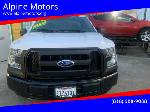 2016 Ford F-150 for sale at Alpine Motors in Van Nuys CA