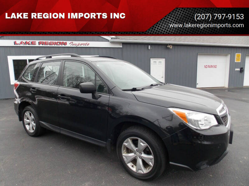 2016 Subaru Forester for sale at LAKE REGION IMPORTS INC in Westbrook ME
